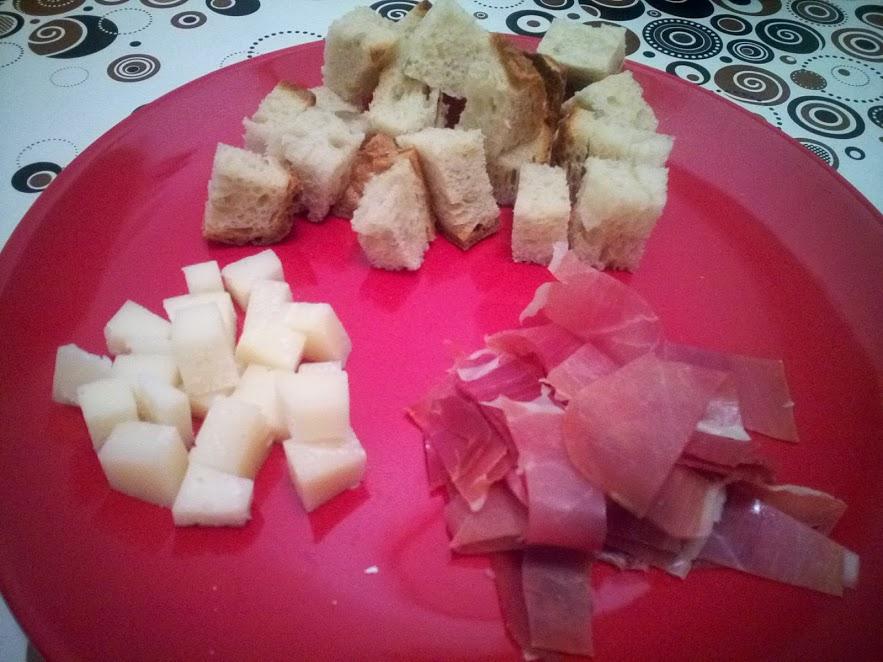 Spanyol tál? Manchego sajt és Serrano sonka