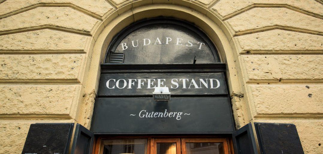 Coffee Stand Gutenberg